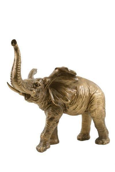 Сувенир слон индийский бронзовый