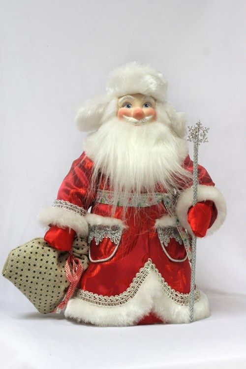 Дед мороз текстиль своими руками 554